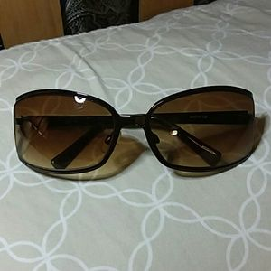 Nine West Metal Frame Sunglasses